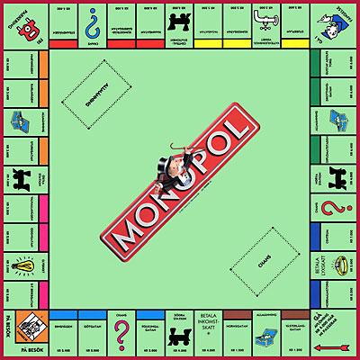regler monopol